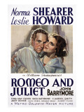 Romeo and Juliet, Leslie Howard, Norma Shearer, 1936 Photo