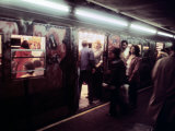 1970s America, Graffiti on a Subway Car on the Lexington Avenue Line. New York City, New York, 1972 Posters