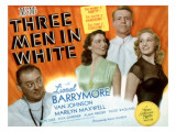 Three Men in White, Lionel Barrymore, Ava Gardner, Van Johnson, Marilyn Maxwell, 1944 Posters