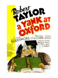 Yank at Oxford, Maureen O'Sullivan, Robert Taylor, 1938 Photo