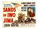 Sands of Iwo Jima, John Wayne, Adele Nara, 1949 Photo