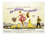 Sound of Music, Julie Andrews, Christopher Plummer, 1965 Prints