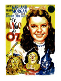 Wizard of Oz, Judy Garland, 1939 Posters