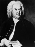 Johann Sebastian Bach, German Composer, Portrait by Elias Gottlieb Haussmann, 1746 Print