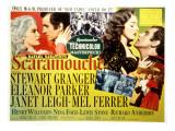 Scaramouche, Janet Leigh, Stewart Granger, Mel Ferrer, Eleanor Parker, 1952 Photo