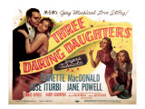 Three Daring Daughters, Jose Iturbi, Jeanette Macdonald, Jane Powell, Ann Todd, Elinor Donahue Prints