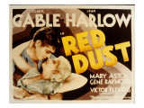 Red Dust, Clark Gable, Jean Harlow, 1932 Fotografía