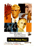 The Thomas Crown Affair, Italian Poster Art, Steve McQueen, Faye Dunaway, 1968 Photo