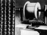 Thomas Alva Edison's First Motion Picture Machine which Recorded Pictures on a Cylinder, 1888, Poster