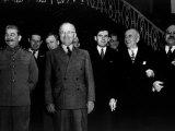 The Potsdam Conference, Josef Stalin, Harry S. Truman, James Byrnes, Vyacheslav Molotov, 1945 Photo