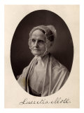 Lucretia Mott, American Reformer, Wife of a Quaker Minister, Slavery Abolitionist, Giclee Print