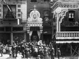 Little Italy, Street Altar to Our Lady of Help, Mott St., New York, 1908 Photo