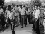 African American School Integration Conflicts, Clinton, Tennessee, December 4, 1956 Photo