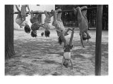 Children Playing at a Playground, Irwinville School, Georgia, May, 1938 Photo