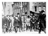 Big Bill Haywood, Leads Lowell Strike Parade. Lowell, Massachusetts, 1912 Prints