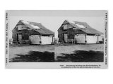 Stereo Photograph of an Embalming Building Near Fredericksburg, Virginia, 1865 Posters