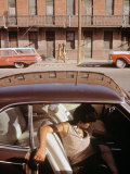 1970s America, a Chicano Teenager in the Barrio Area of El Paso, Texas, 1973 Posters