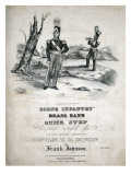 Boone Infantry Brass Band Quick Step, African American Composer, Band Leader, Francis Johnson, 1844, Giclee Print