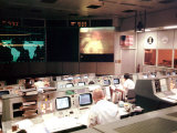 Apollo 13 Mission Operations Control Room, Mission Control Center, April 13, 1970 Posters