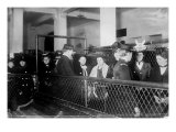 Immigration. Female European Immigrants Being Processed at Ellis Island, 1907 Photo