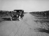 California Citrus Heritage Recording Project, Dufferin Avenue and Vehicle, Riverside County, 1930 Photo