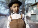 Negro Boy Near Cincinnati, Ohio Prints by John Vachon