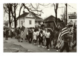 Civil Rights, the Freedom March from Selma to Montgomery, Alabama in 1965, 1965 Prints