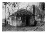Slavery, Slave Quarters at the Hermitage Plantation Outside of Savannah, Georgia, 1900 Prints