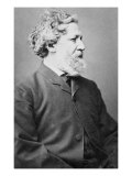 Robert Browning Eminent English Victorian Poet in 1855 at Age 55 Photo