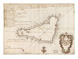 1803 Mapa de Esteer Isla Fotografía