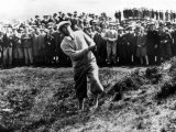 Bobby Jones at the British Amateur Golf Championship at St. Andrews, Scotland, June 1930 Fotografía