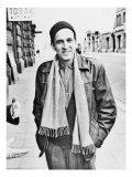 Ingmar Bergman, Swedish Director and Filmmaker, on a Stockholm Street in 1961 Photo