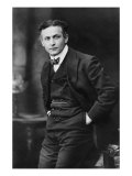 Harry Houdini, American Magician Famous for His Escape Acts. 1913 Portrait by Gray Campbell Prints