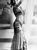 Mata Hari, Dutch-Born Exotic Dancer and Spy, Giclee Print