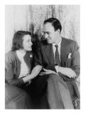 Roald Dahl, British Author with His Wife, Actress Patricia Neal in 1954 Poster von Carl Van Vechten