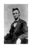 Abraham Lincoln Portrait Taken During Lincoln's Last Photography Sitting Affiches