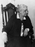 Jane Addams, Founder of Hull House and Nobel Peace Prize Laureate, 1930s Photo