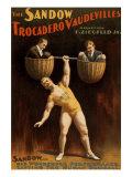Eugen Sandow, German Born Strong Man, Was Florenz Ziegfeld's First Major Vaudeville Star, 1894 - Photo