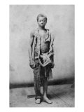Young Slave During the Civil War Reduced to Such Poverty He Is Wearing Only Rags, 1963 Photo