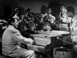 Duke Ellington and His Famous Orchestra Perfom. 1945 Prints