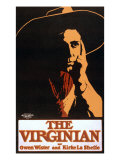 "1903 Theatrical Production of Owen Wister's Western Novel, ""The Virginian"" by Kirke La Shelle's Posters"