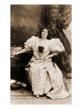 Emma Eames, American Soprano as Sieglinde, from Wagner's Die Walkure, 1894, Giclee Print