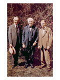 Henry Ford, Thomas Alva Edison, and Henry Firestone at the Edison Home in Fort Myers, Florida, 1923, Poster