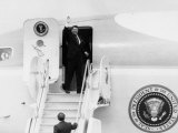 Reagan Presidency. US President Ronald Reagan Boarding Air Force 1, 1980s Photo
