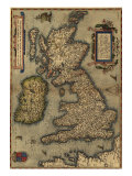 1570 Map of the British Isles. from Abraham Ortelius, Theatrvm Orbis Terrarvm Prints