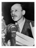 Alvah Bessie, Hollywood Screen Writer, Testifying before the House Un-American Activities Committee Photo