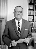 J. Edgar Hoover, Founder of the Federal Bureau of Investigation. September 28, 1961 Photo