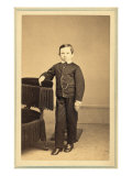 Thomas 'Tad' Lincoln, Youngest Son of President Abraham and Mary Lincoln, 1863, Giclee Print