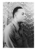 "Chester Himes Expatriate African American ""Noir"" Novelist, Writer of Detective Novels, 1946, Photographic Print"