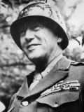 General George S. Patton Jr., During the Early Stages of the Invasion of Normandy, France, 1944 Photo